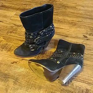 Steve Madden Rusttik leather boots size 7.5